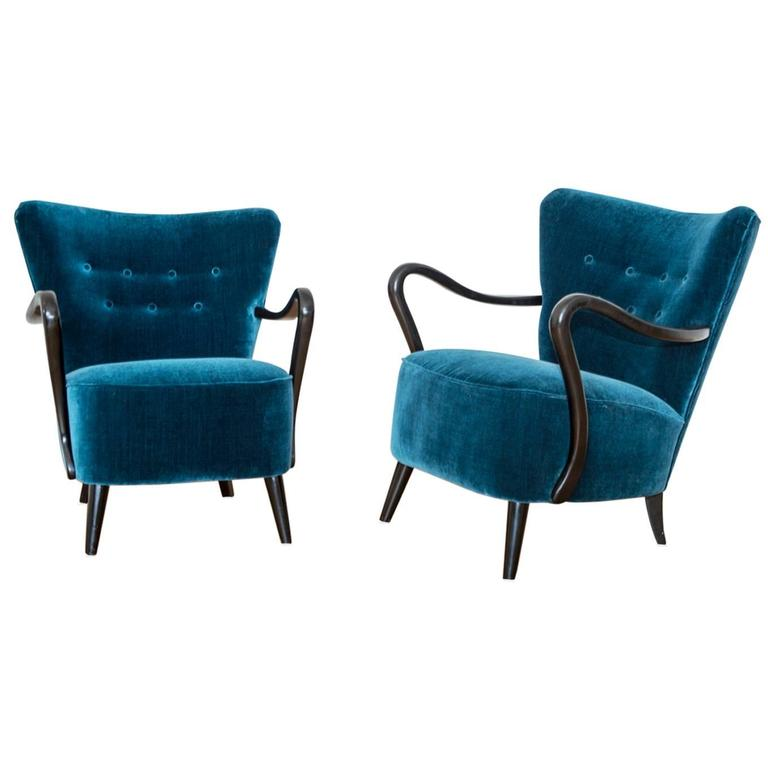 Romeo And Juliet Lounge 1930s Style Armchairs At 1stdibs