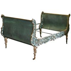 Cast Iron Rococo Daybed, MS20