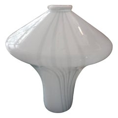 Large Scale Handblown Murano Glass Lamp by Vistosi
