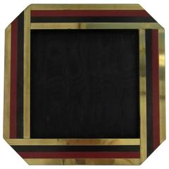 Chic Italian Vintage Modern Picture Frame, Italy 1970s