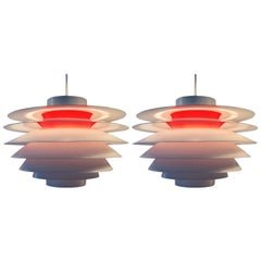 Classic Nordic Pendant by Svend Middelboe for Nordisk Solar Company