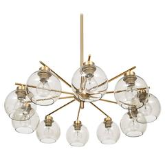 Big Ceiling Lamp Produced by Westal in Sweden