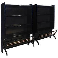 Pair of Small Bookcases from the 1950s