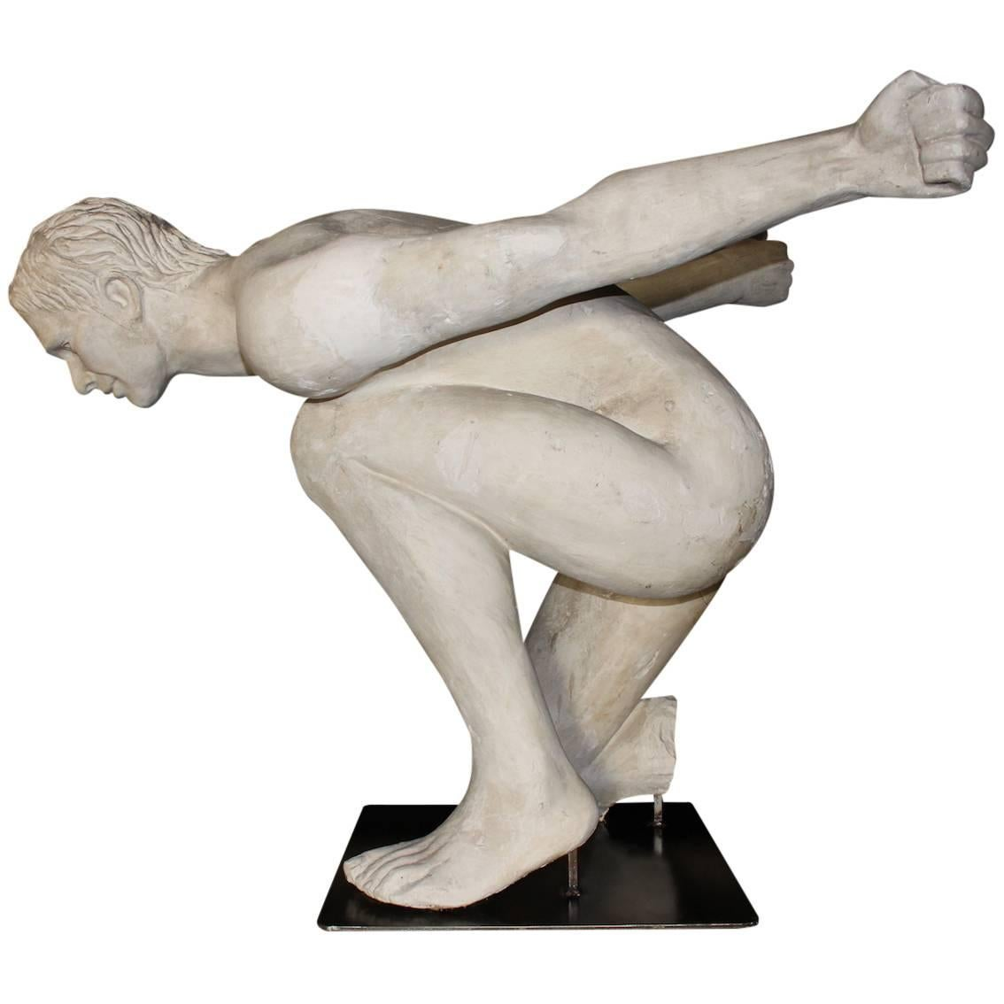 "1970s ""Artist Proof"" Plaster Sculpture"