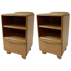 1950s Pair of Heywood-Wakefield Nightstands