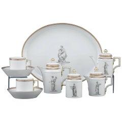 18th Century KPM Porcelain Tea Service