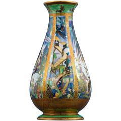 Pillar Fairyland Lustre Vase by Wedgwood