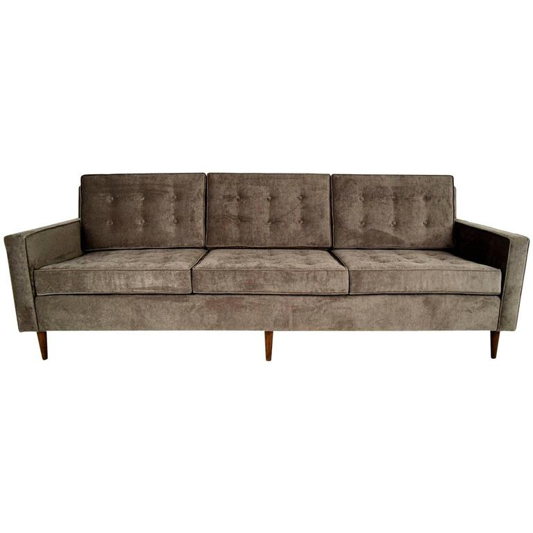 Vintage mid century modern sofa for sale at 1stdibs for Modern sofas for sale