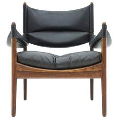 Rosewood Lounge Chair by Christian Vedel, Denmark, 1973