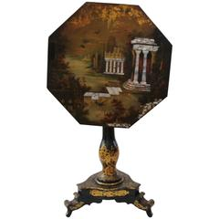 Victorian Lacquered Tilt-Top Table