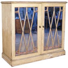 19th Century Mirror Glazed Cabinet
