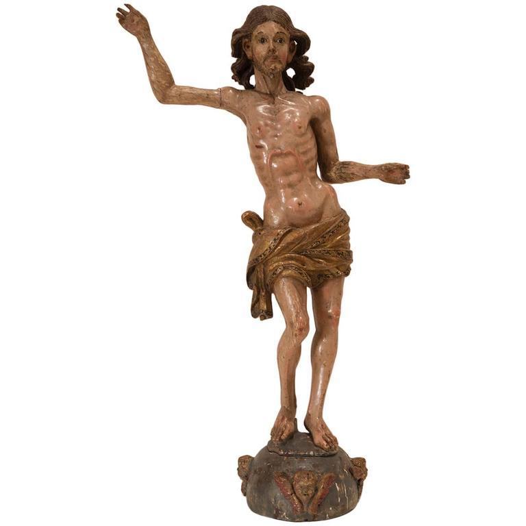 Christ Triumphant Sculpture For Sale