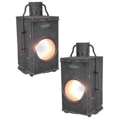 German Train Depot Lanterns