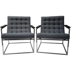 Pair of Thayer Coggin Armchairs
