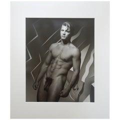 "1989 Original Michael Roberts Photograph ""Portrait of ""Michel"" Hamilton's London"
