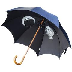 Piero Fornasetti Umbrella Black Signed
