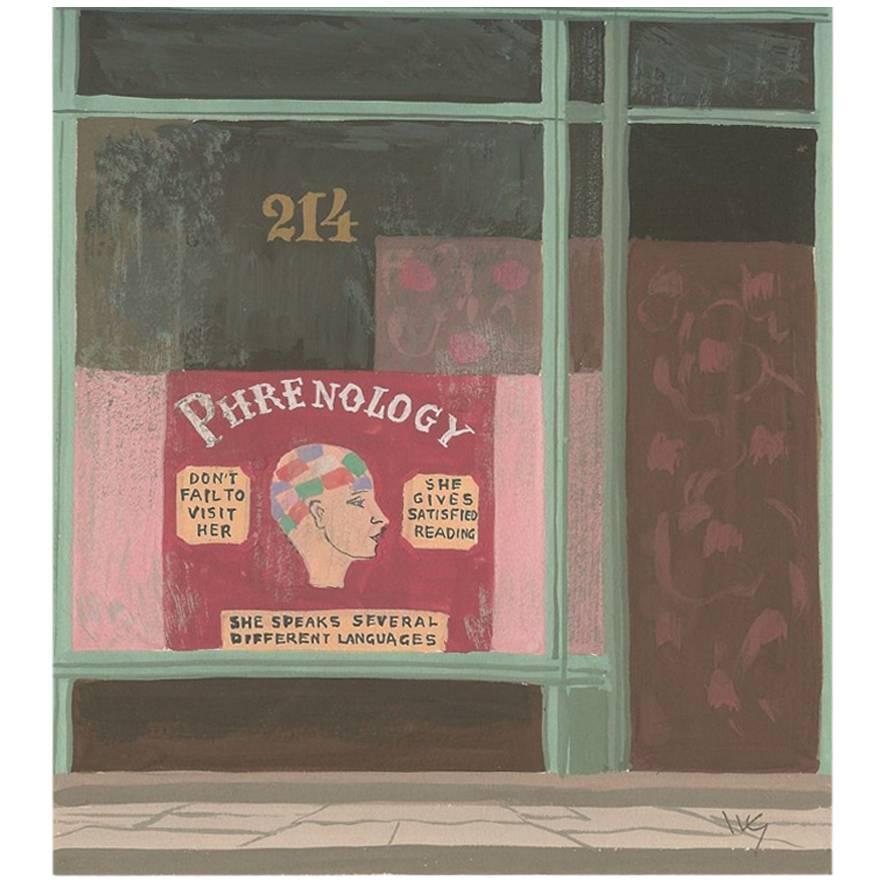 Witold Gordon Gouache, Phrenology, Vanity Fair