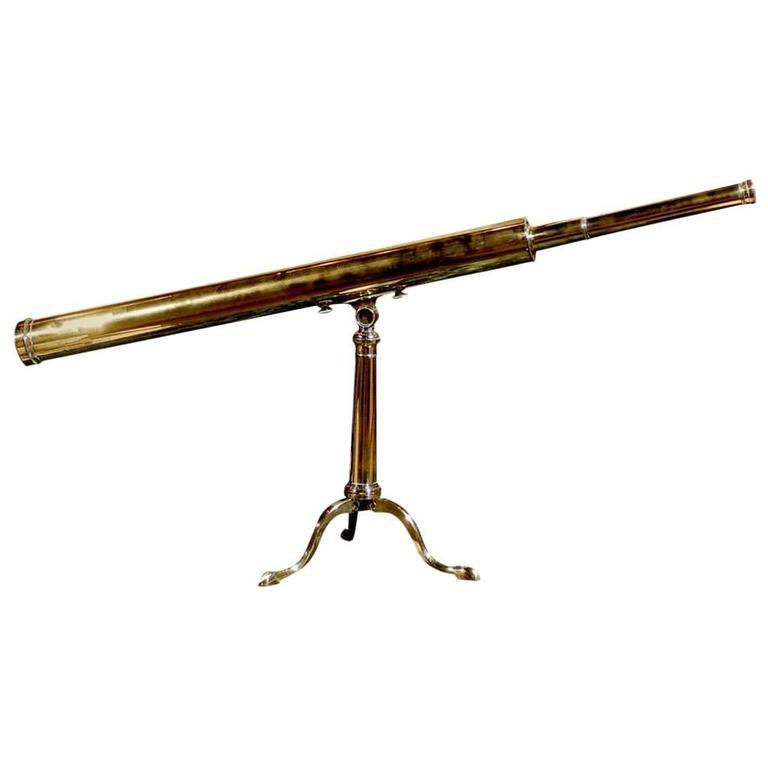 Brass Terrestrial Telescope, circa 1850
