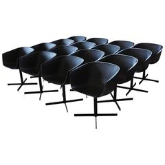 """Strip"" Dining Chairs by Carlo Colombo for Poliform - sold in even numbers"