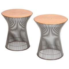 Pair of Side Tables by Warren Platner for Knoll