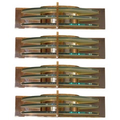 Set of Four Art Deco Sconces