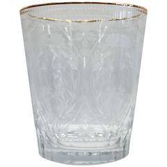 Fabergé Crystal Vase, Signed