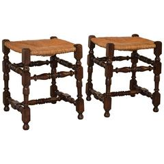 Pair of Late 19th Century French Stools