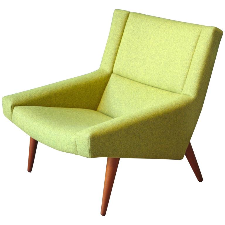 Danish Model 50 Lounge Chair by Illum Wikkelsø for Søren Willadsen, 1960s