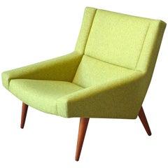 Modell 50 Dänischer Lounge Sessel von Illum Wikkelsø für Søren Willadsen, 1960er Jahre