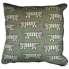 Lisa Larson 'Mikey' Cat Fabric  Cushions