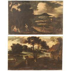 18th Century Pair of Spanish Paintings