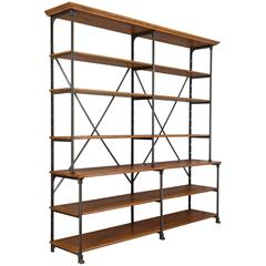 20th Century Parisian Industrial Shelving