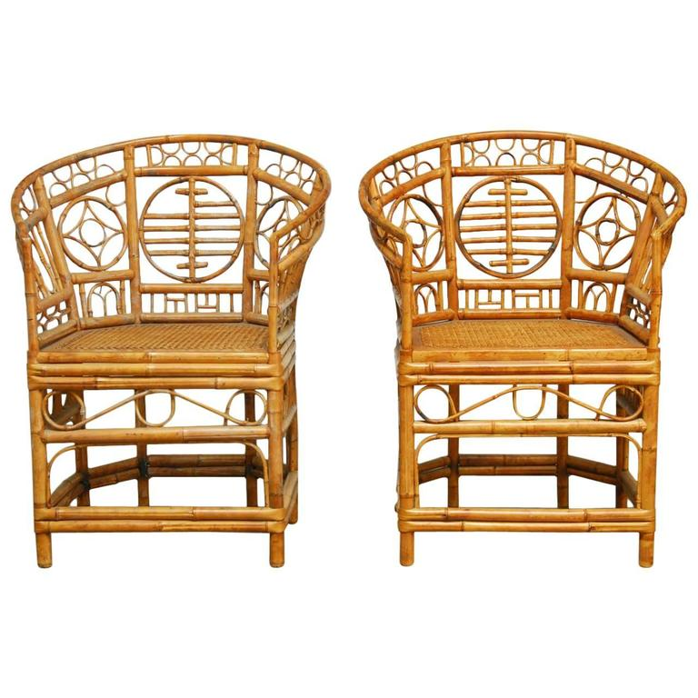 pair of brighton pavilion style chinoiserie chinese chippendale
