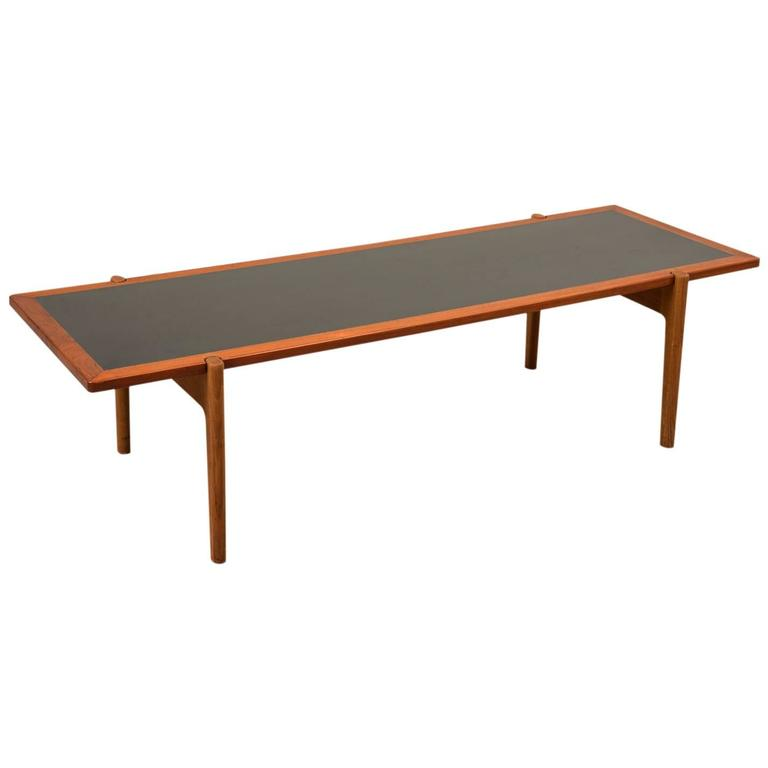 Large Reversible Top Coffee Table By Hans Wegner For Sale At 1stdibs
