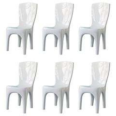 Dining Chairs by Jacques Jarrige in Lacquer