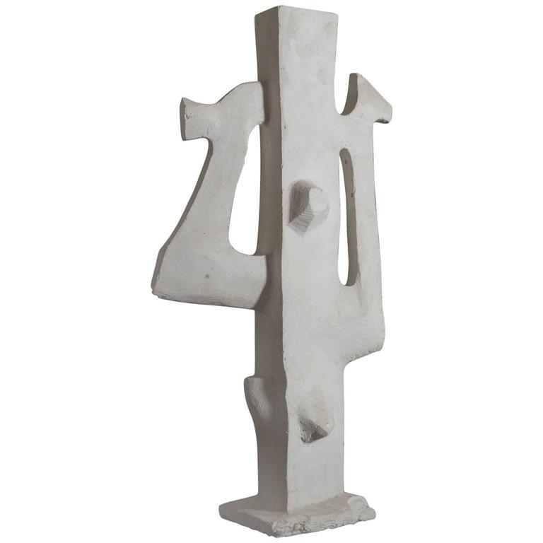 "1960s Maxime Dubaut ""Untitled"" Abstract Sculpture"