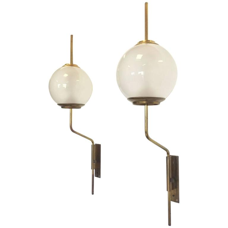 Pair of Adjustable Wall Lamps by Azucena at 1stdibs