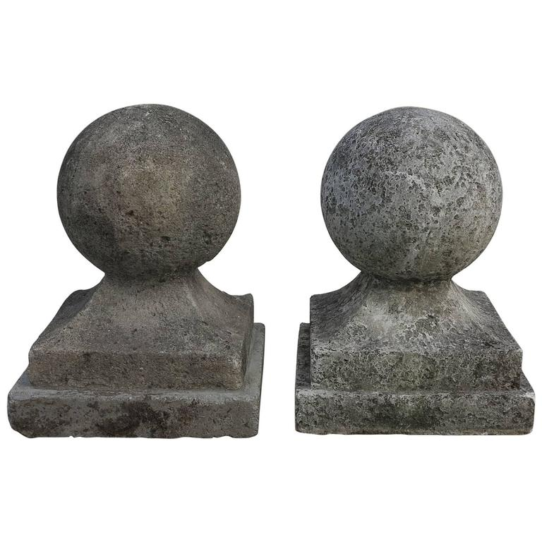 Large Cement Garden Finials For Sale