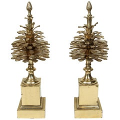 Pair of Maison Charles Style Finials
