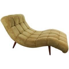 """Mid-Century """"S"""" Curve Lounge Chair or Chaise by Adrian Pearsall"""