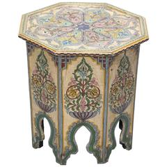 Hand-Painted Anglo-Indian Side Table