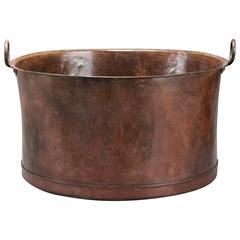 Large Swedish 19th Century Copper Pot