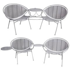 Outdoor Seating Collection by Maurizio Tempestini for Salterini