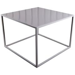 Minimalist Metal Table