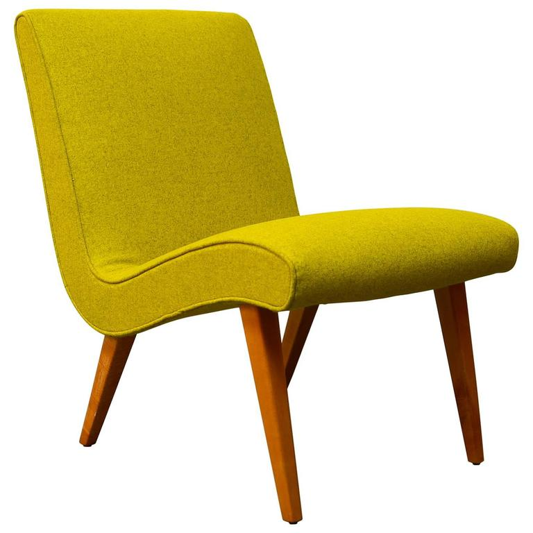 Jens Risom Lounge Chair for Knoll at 1stdibs