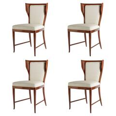 Four Elegant Chairs by Paolo Buffa Published