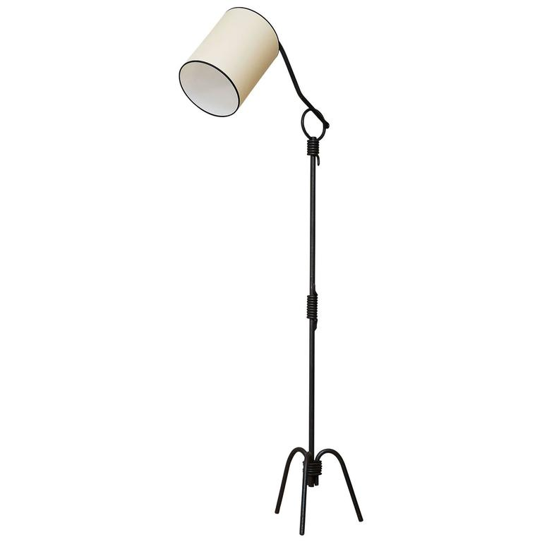 Floor Lamp in the Style of Jean Royère, France, circa 1950