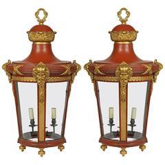 Pair of Hall Lanterns