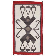 Vintage Navajo Rug, Oriental Rugs, Handmade Wool Rug