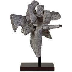 American Abstract Metal Sculpture, Unsigned